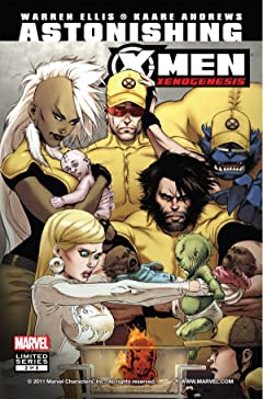 Astonishing X-Men: Xenogenesis #2 (of 5)