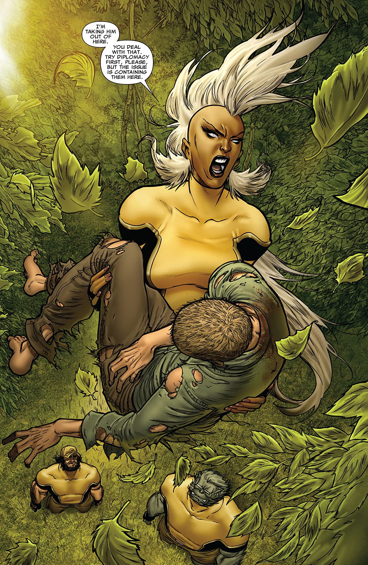 Astonishing X-Men: Xenogenesis #4 (of 5)