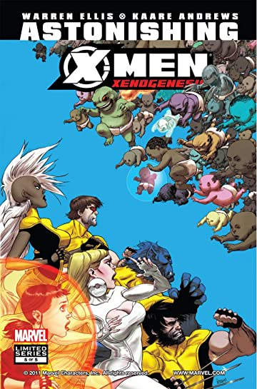 Astonishing X-Men: Xenogenesis #5 (of 5)