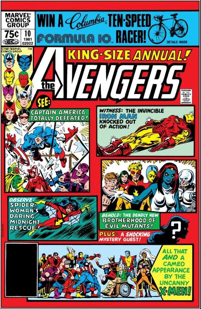 Avengers (1963-1996) Annual #10