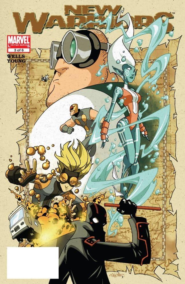 New Warriors (2005) #3 (of 6)