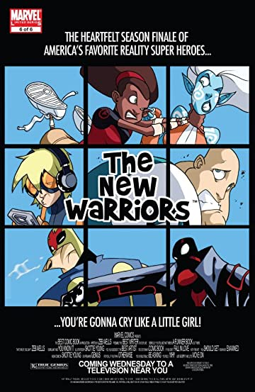New Warriors (2005) #6 (of 6)