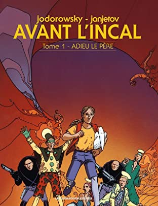 Avant l'Incal Vol. 1: Adieu le père