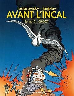 Avant l'Incal Vol. 3: Croot