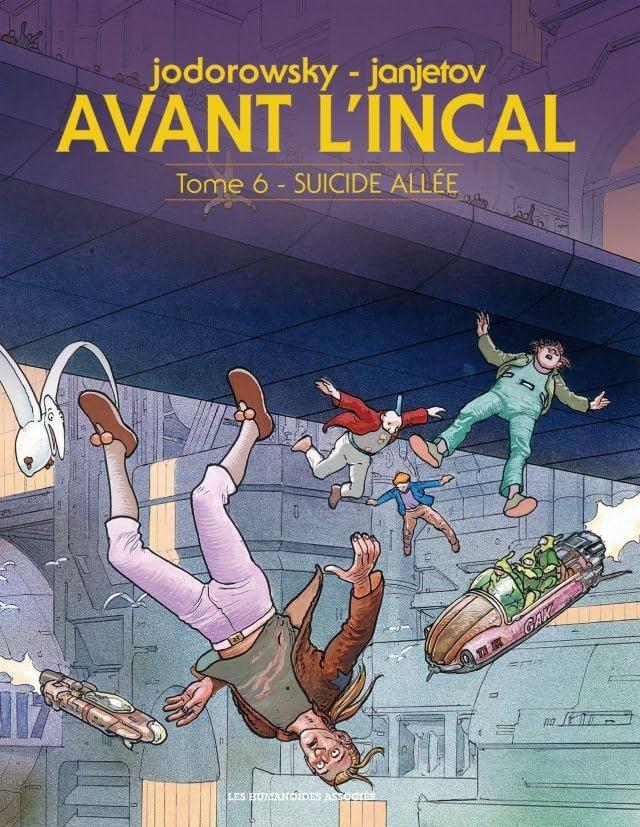 Avant l'Incal Vol. 6: Suicide Allée