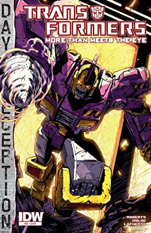 Transformers: More Than Meets the Eye (2011-2016) #37: Days of Deception