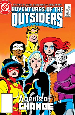 Adventures of the Outsiders (1983-1987) #36