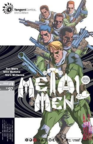 Tangent Comics: Metal Men (1997) #1