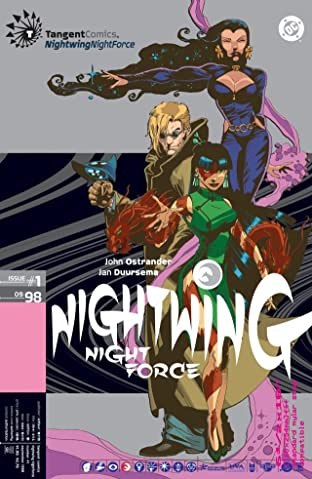 Tangent Comics: Nightwing: Night Force (1998) No.1