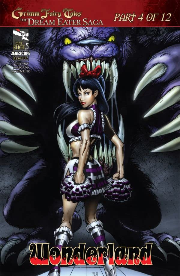 Dream Eater Saga No.4 (sur 12)