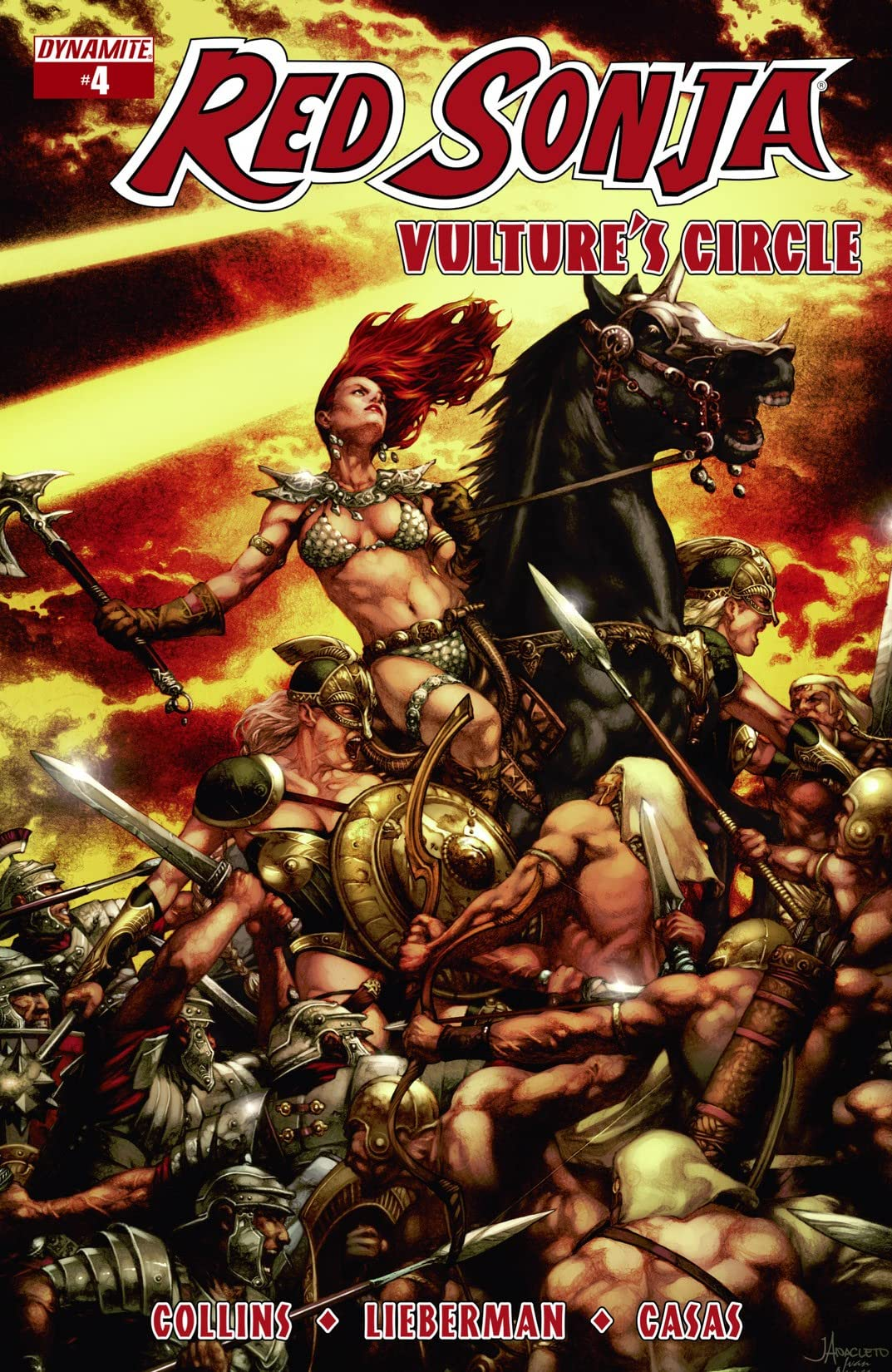 Red Sonja: Vulture's Circle #4: Digital Exclusive Edition