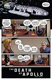 Battlestar Galactica: Death of Apollo #3 (of 6): Digital Exclusive Edition