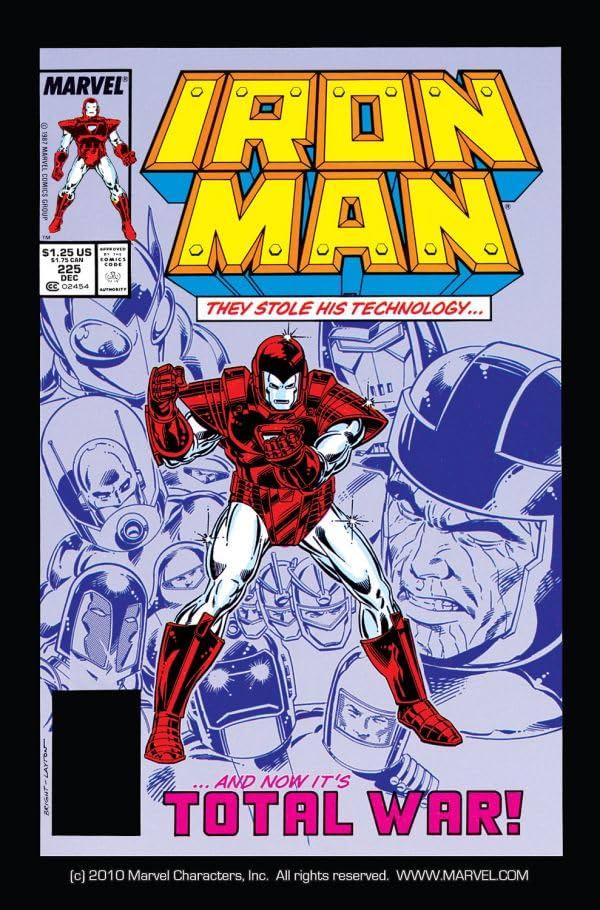 Iron Man (1968-1996) #225