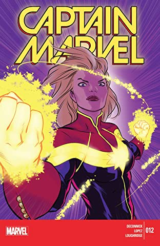 Captain Marvel (2014-2015) #12