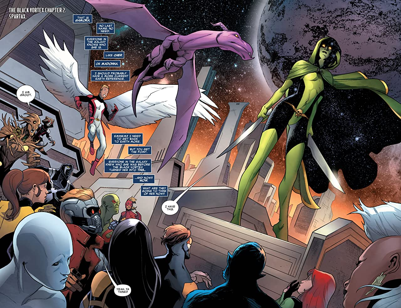 Guardians of the Galaxy (2013-2015) #24