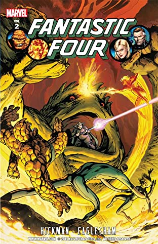 Fantastic Four By Jonathan Hickman Tome 2