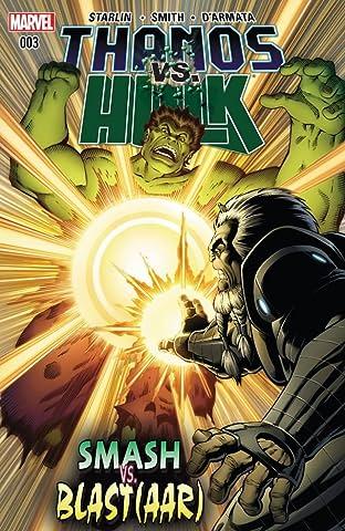Thanos vs. Hulk #3 (of 4)