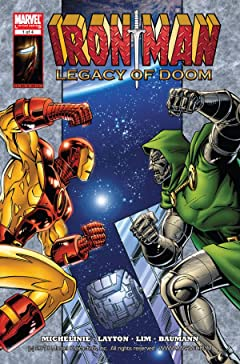 Iron Man: Legacy of Doom #1 (of 4)