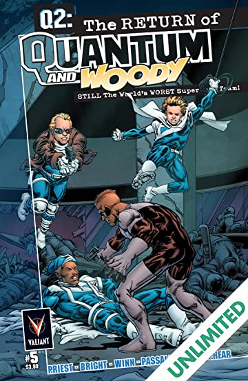 Q2: The Return of Quantum and Woody (2014) #5 (of 5): Digital Exclusives Edition