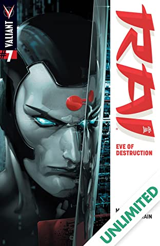 Rai (2014- ) #7: Digital Exclusives Edition