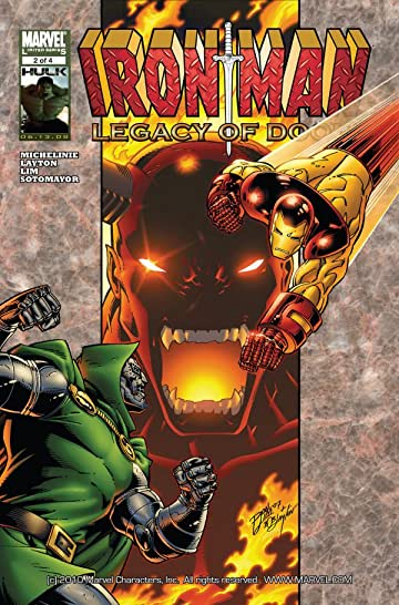 Iron Man: Legacy of Doom #2 (of 4)