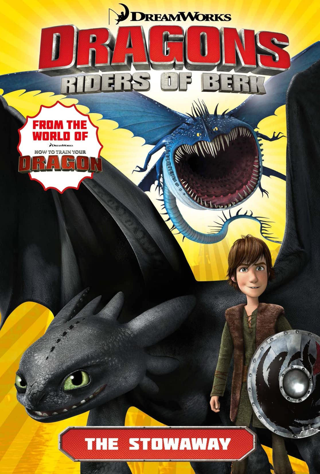 Dragons: Riders of Berk Vol. 4: The Stowaway