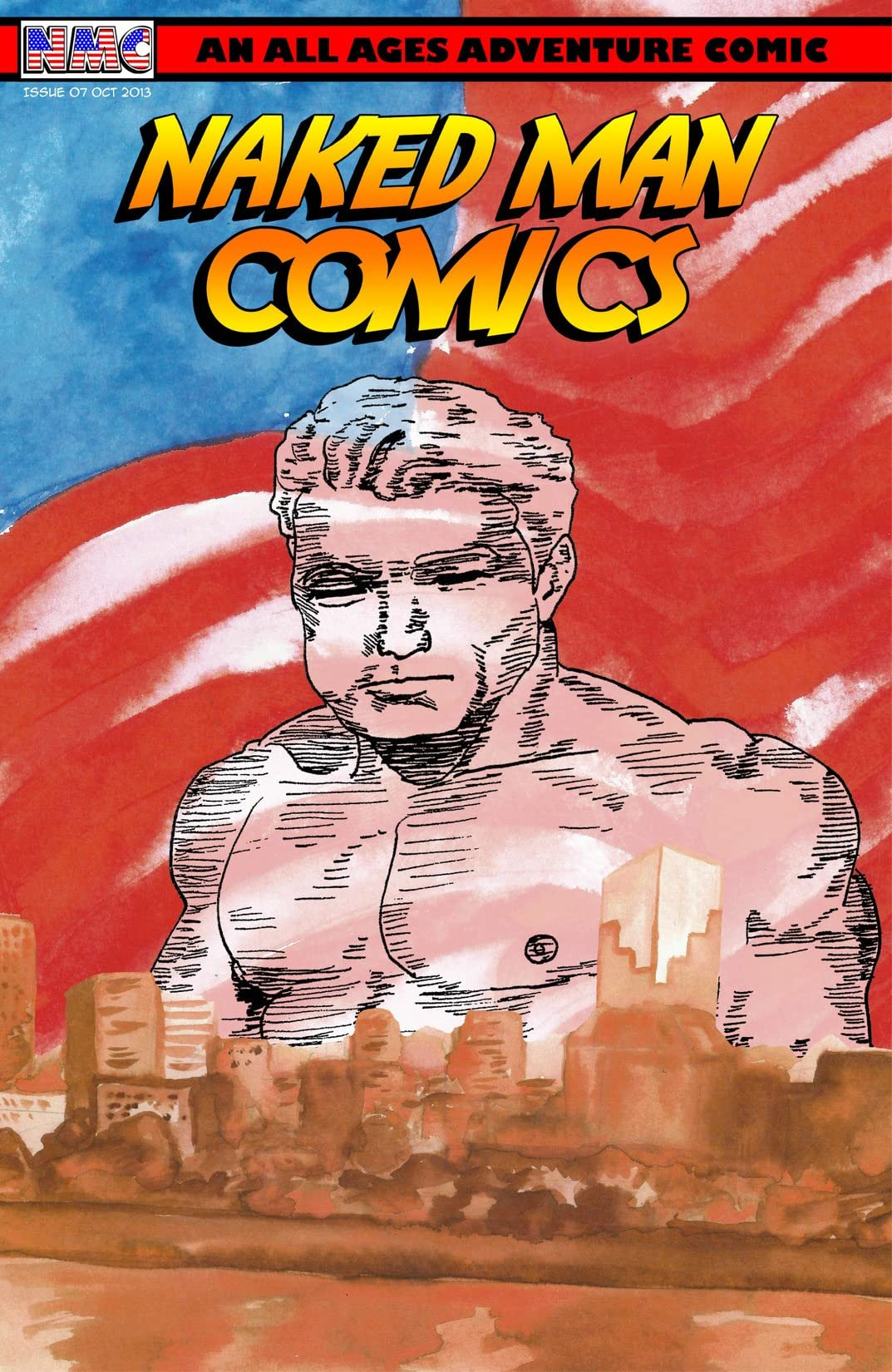 Naked Man Comics #7