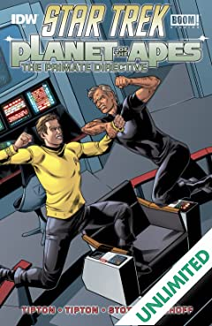 Star Trek / Planet of the Apes #3 (of 5)