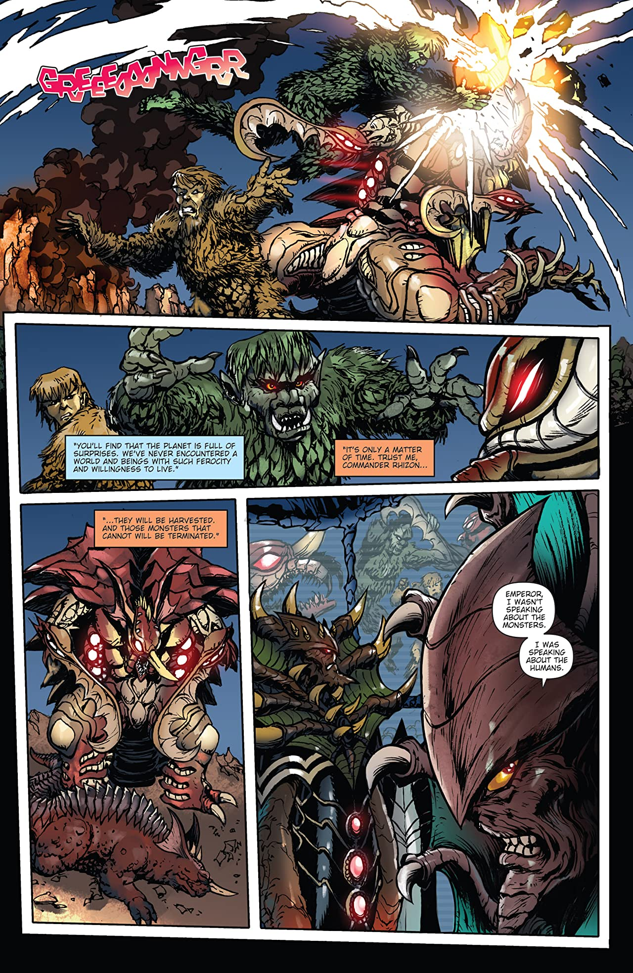Godzilla: Rulers of Earth #21