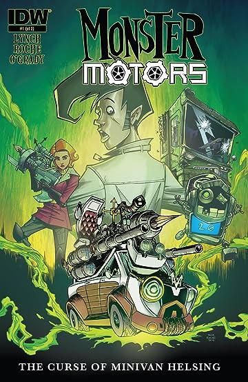 Monster Motors: The Curse of Minivan Helsing #1 (of 2)