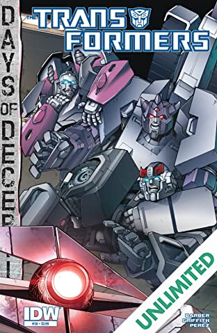 Transformers (2011-) #38: Days of Deception
