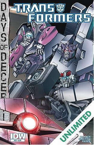 Transformers (2011-) #38: Days of Deception