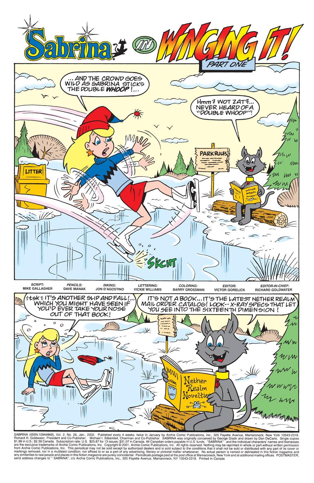 Sabrina the Teenage Witch Animated Series #26