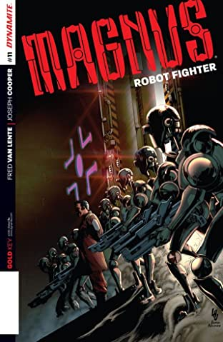 Magnus: Robot Fighter #11: Digital Exclusive Edition