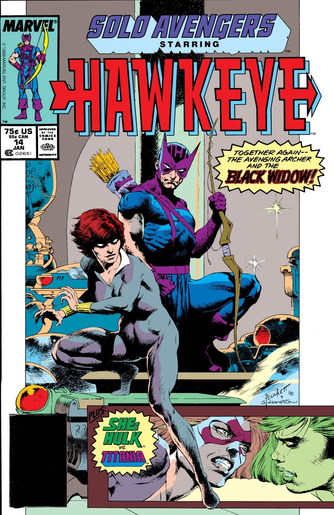 Solo Avengers (1987-1989) #14