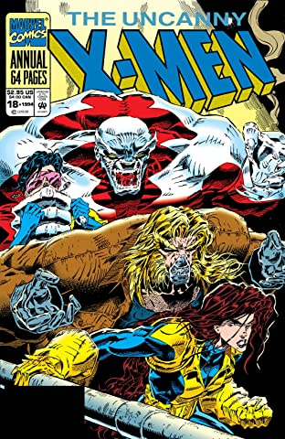 Uncanny X-Men (1963-2011) Annual No.18