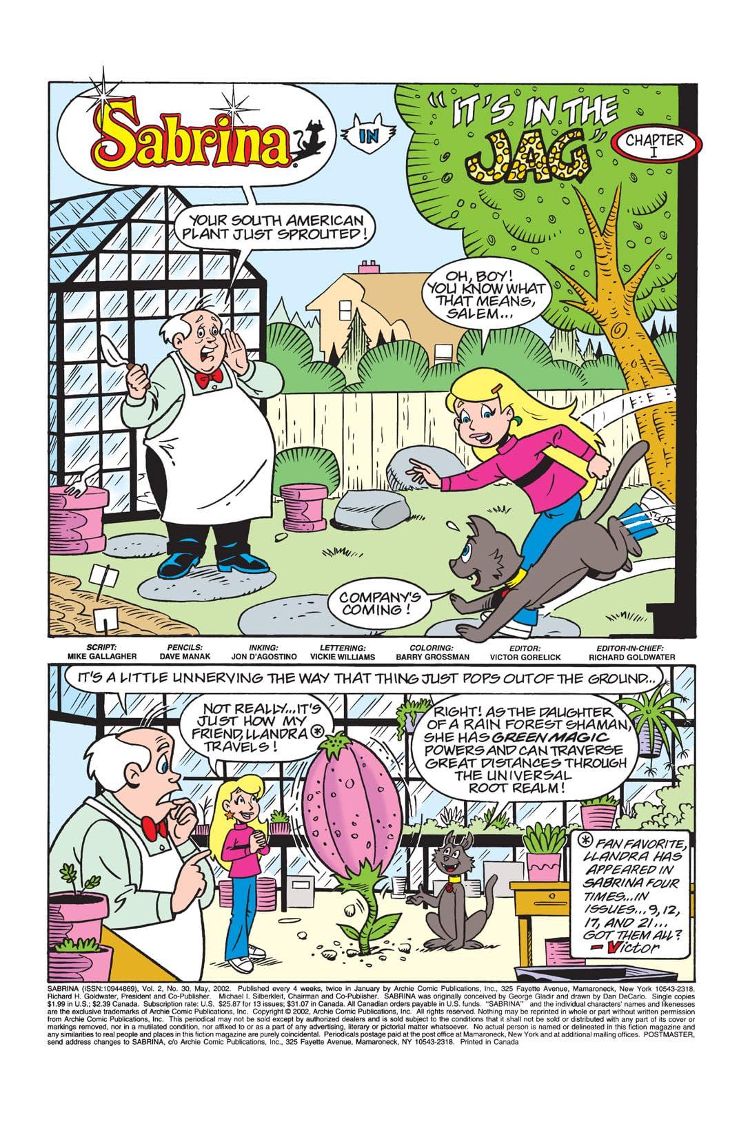 Sabrina the Teenage Witch Animated Series #30