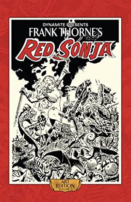Frank Thorne's Red Sonja: Art Edition Vol. 2