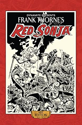 Frank Thorne's Red Sonja: Art Edition Tome 2