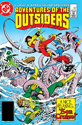 Adventures of the Outsiders (1983-1987) #37