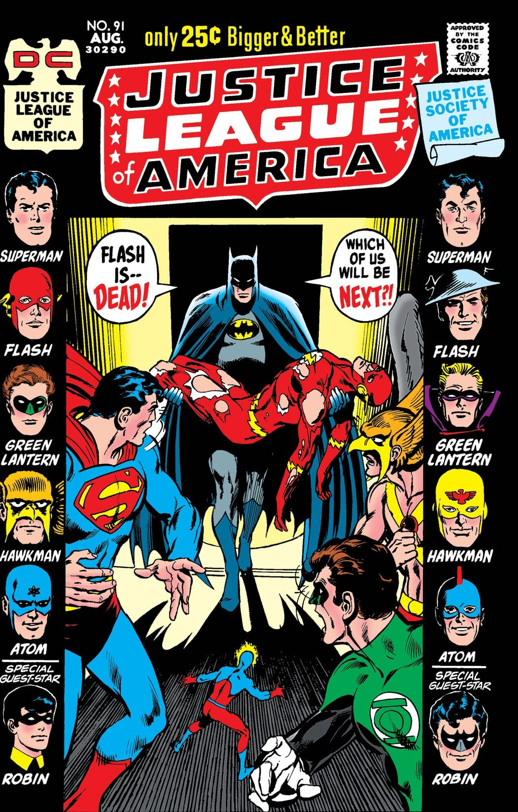Justice League of America (1960-1987) #91