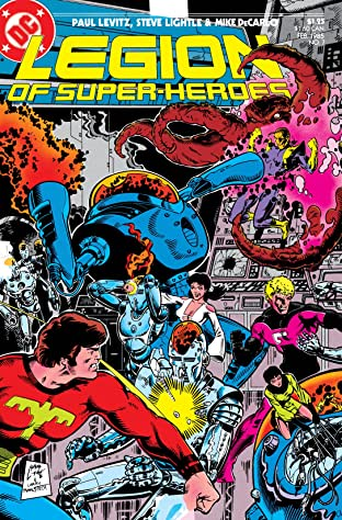 Legion of Super-Heroes (1984-1989) #7