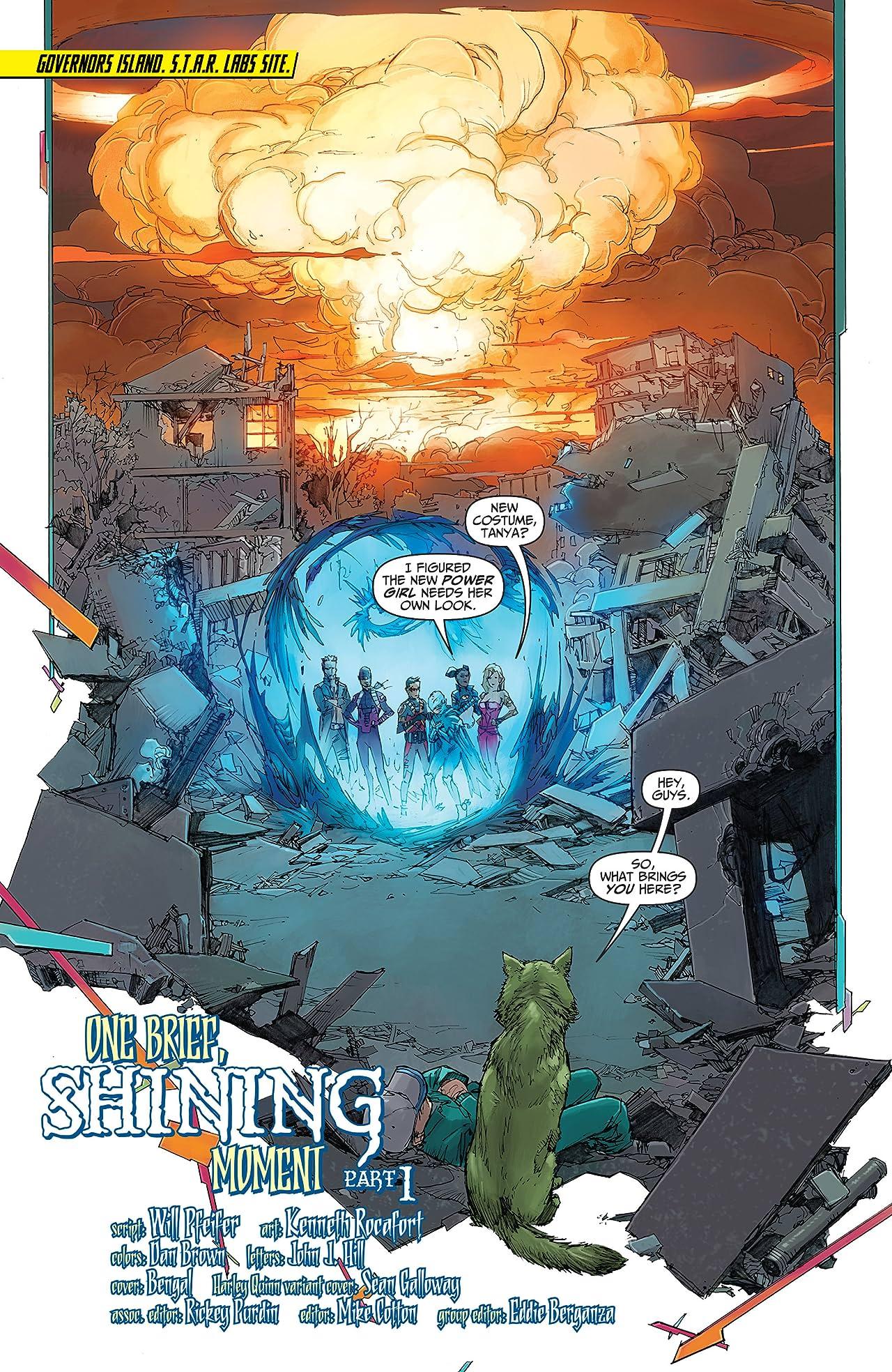Teen Titans (2014-2016) #7