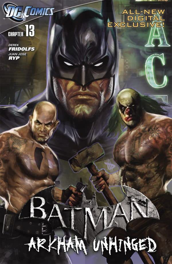 Batman: Arkham Unhinged #13
