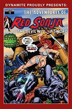 The Adventures of Red Sonja #1
