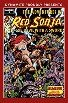 The Adventures of Red Sonja #2