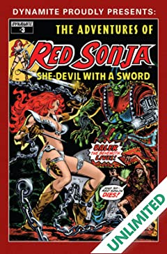The Adventures of Red Sonja #3
