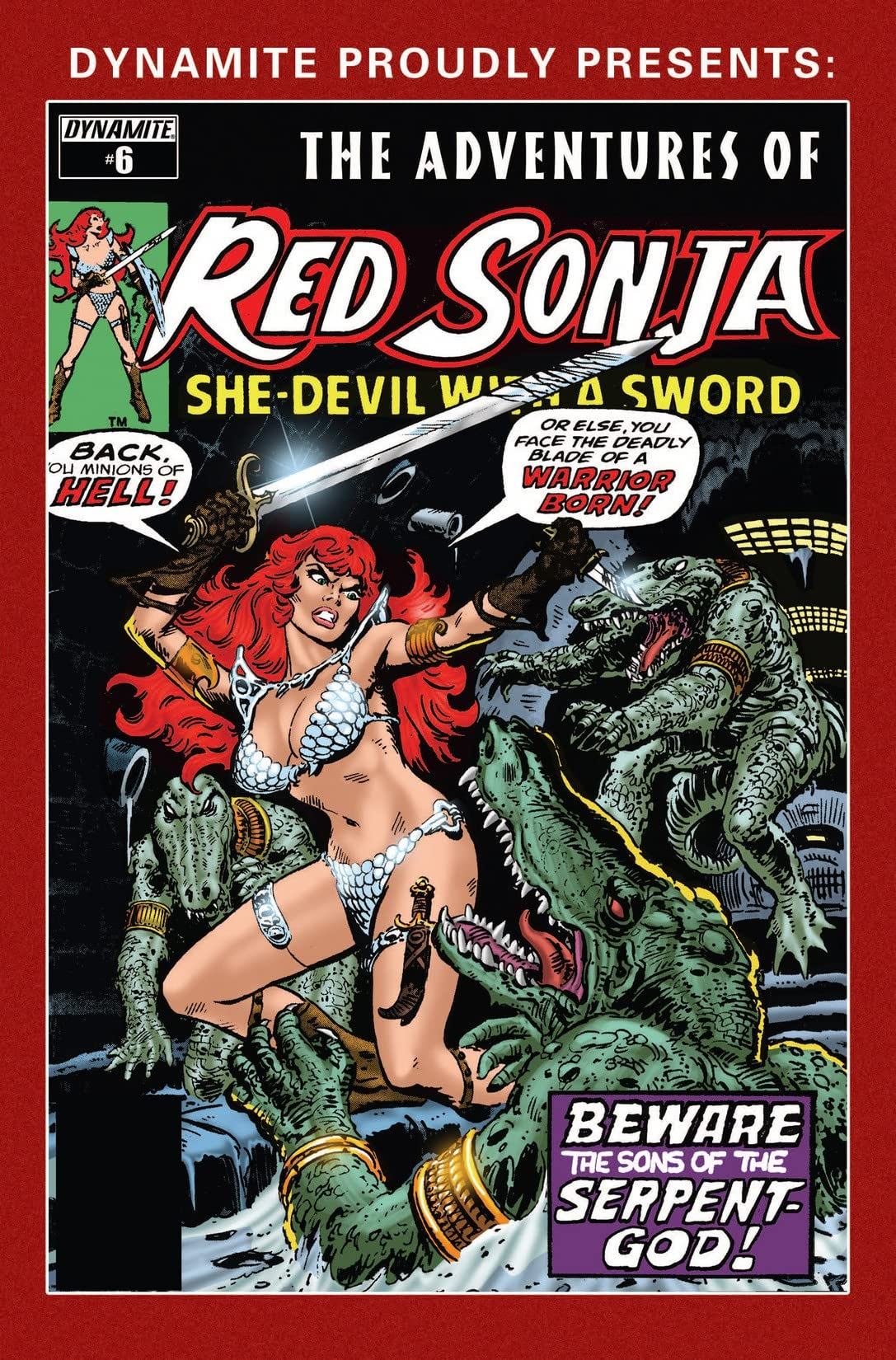 The Adventures of Red Sonja #6