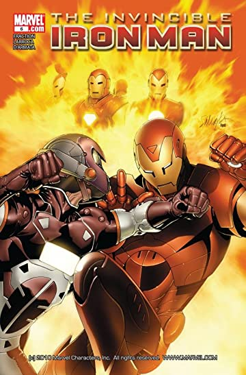 Invincible Iron Man (2008-2012) #6