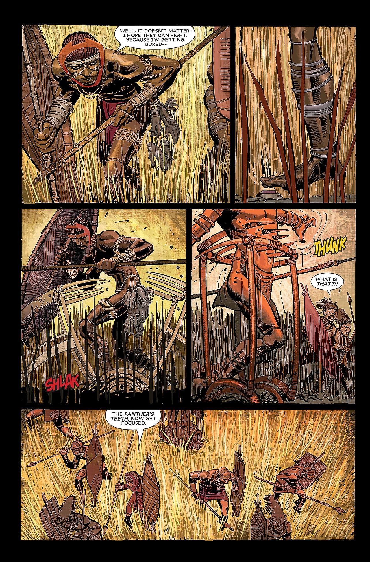 Black Panther (2005-2008) #1